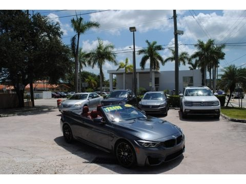 Mineral Grey Metallic 2019 BMW M4 Convertible