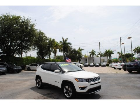 White 2020 Jeep Compass Limted