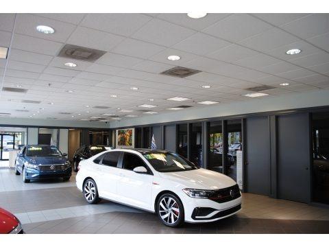 Pure White 2019 Volkswagen Jetta GLI