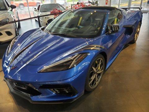 Elkhart Lake Blue Metallic 2021 Chevrolet Corvette Stingray Coupe