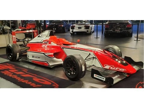 Red/White 2023 Mygale Formula 4 Ford EcoBoost