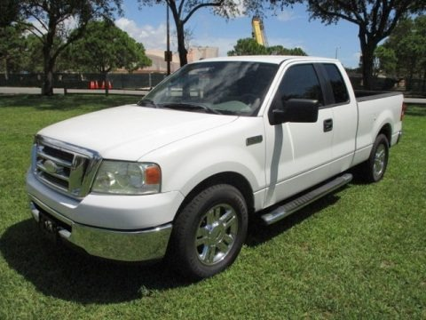 Oxford White 2008 Ford F150 XLT SuperCab