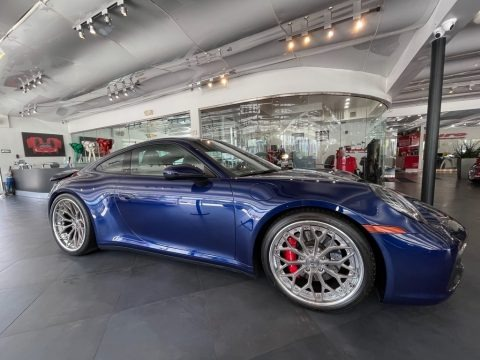 Gentian Blue Metallic 2020 Porsche 911 Carrera S