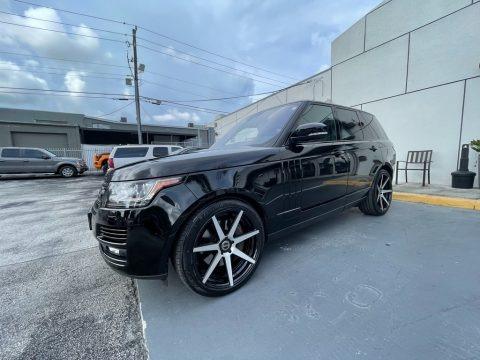 Santorini Black Metallic 2016 Land Rover Range Rover HSE