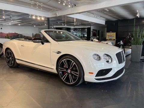 Glacier White 2016 Bentley Continental GTC V8