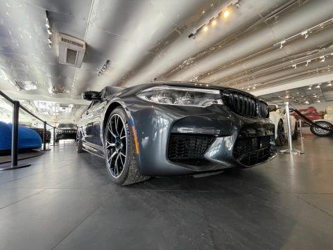 Singapore Gray Metallic 2019 BMW M5 Competition