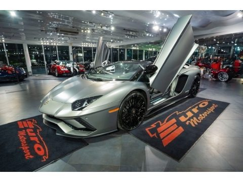 Grigio Titans Matt 2019 Lamborghini Aventador S Roadster