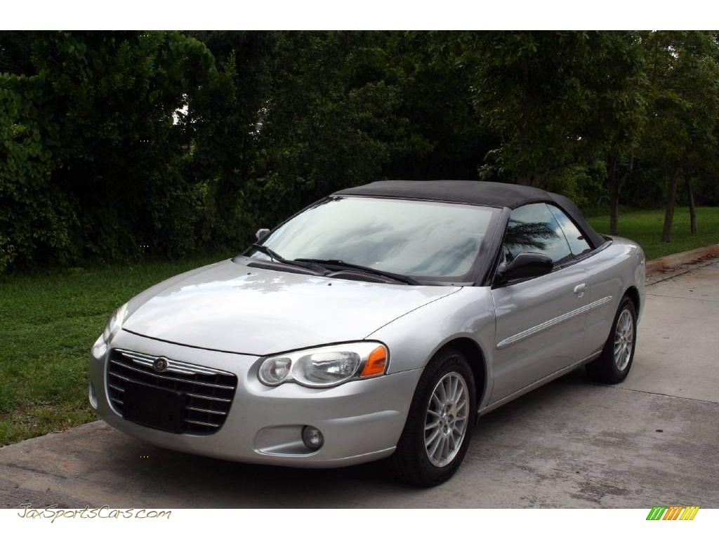 2004 chrysler sebring lxi convertible in bright silver. Black Bedroom Furniture Sets. Home Design Ideas