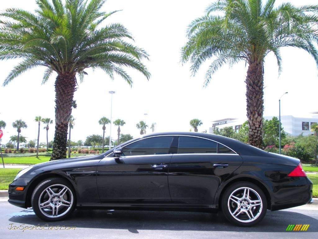 2006 mercedes benz cls 500 in black 068390 jax sports. Black Bedroom Furniture Sets. Home Design Ideas