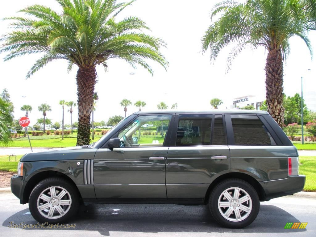2006 Land Rover Range Rover Hse In Tonga Green Pearl