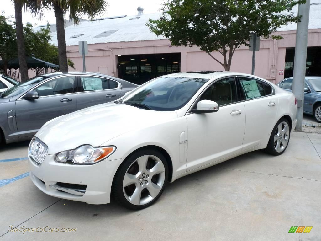 2009 jaguar xf supercharged in porcelain white r32124 jax sports cars cars for sale in florida. Black Bedroom Furniture Sets. Home Design Ideas