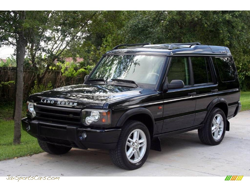 2003 land rover discovery se7 in java black 798174 jax sports cars cars for sale in florida. Black Bedroom Furniture Sets. Home Design Ideas