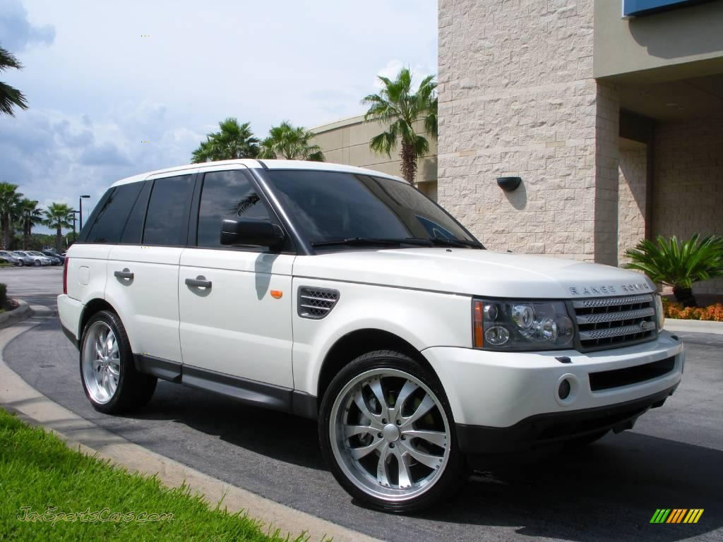 2006 land rover range rover sport supercharged in chawton white photo 4 981336 jax sports. Black Bedroom Furniture Sets. Home Design Ideas