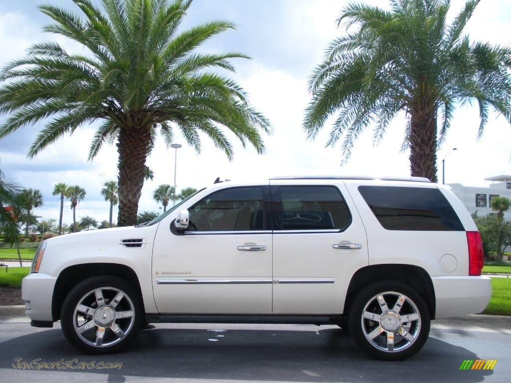 2008 Cadillac Escalade Awd In White Diamond 126341 Jax