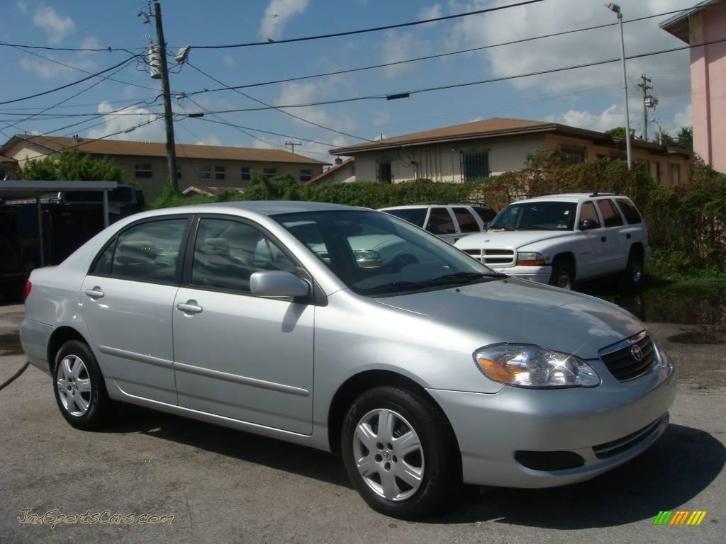2007 Toyota Corolla LE In Silver Streak Mica