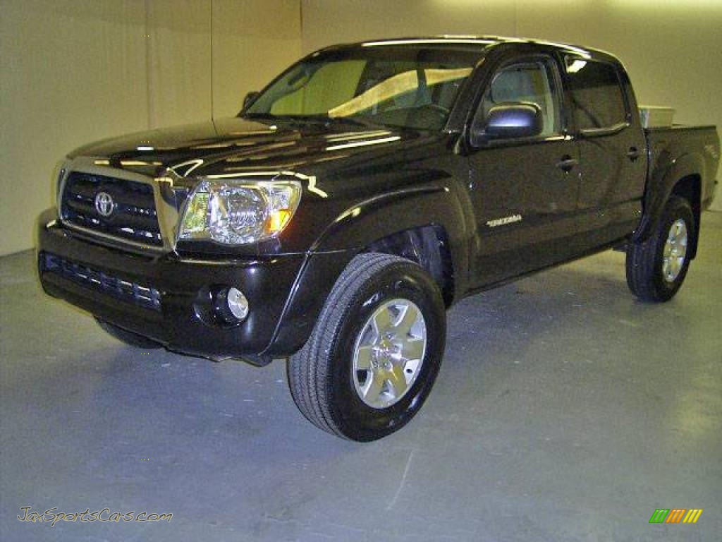 2007 Toyota Tacoma Prerunner V6 >> 2007 Toyota Tacoma V6 Prerunner Trd Double Cab In Black Sand Pearl