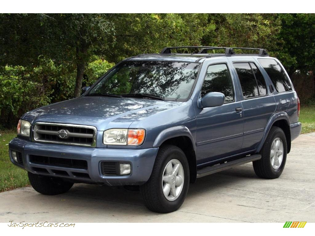 2001 Nissan Pathfinder Le In Bayshore Blue Metallic