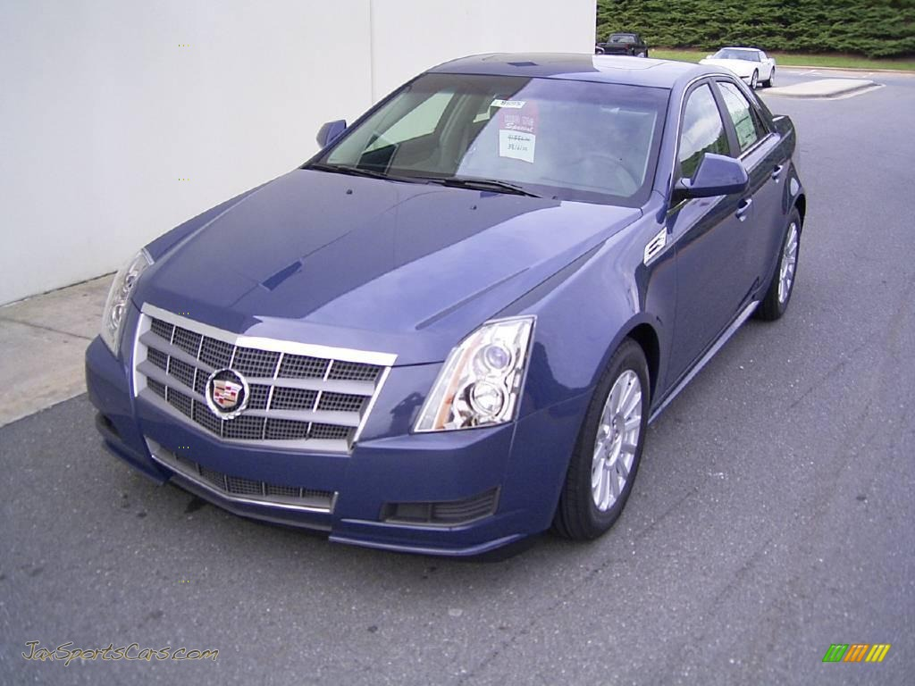 2010 cadillac cts 3 0 sedan in blue diamond tricoat. Black Bedroom Furniture Sets. Home Design Ideas