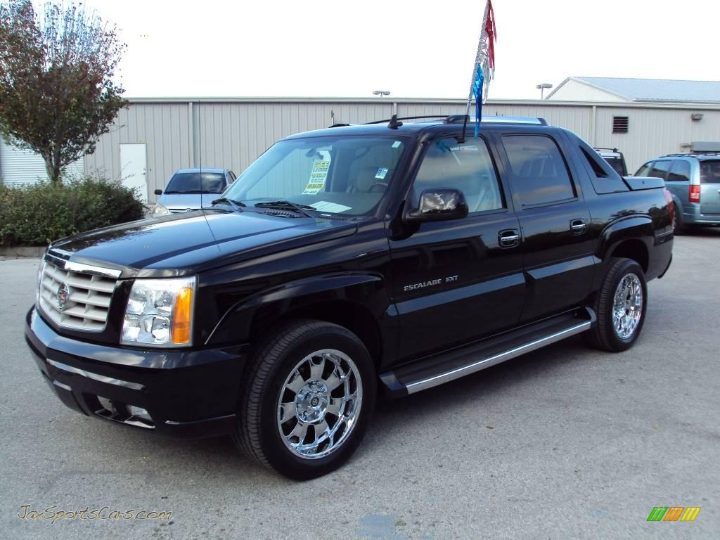 2006 cadillac escalade ext awd in black raven 177901 jax sports cars cars for sale in florida. Black Bedroom Furniture Sets. Home Design Ideas