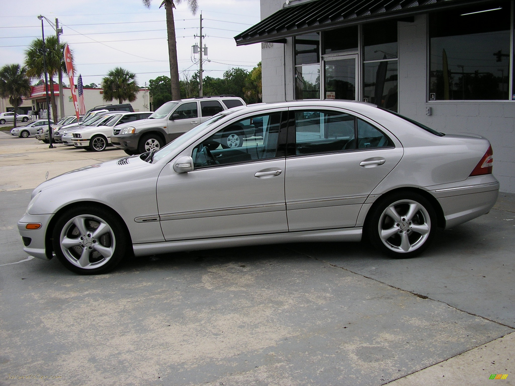 2005 mercedes benz c 230 kompressor sedan in iridium for Mercedes benz 2005 for sale