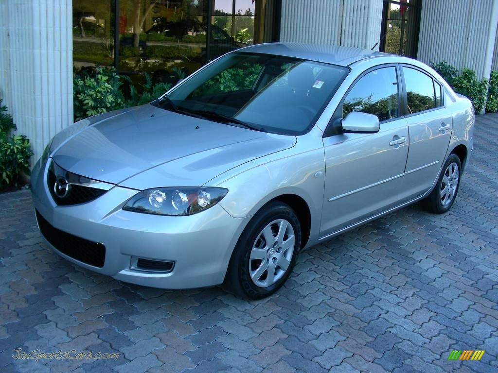 2008 mazda mazda3 i sport sedan in sunlight silver. Black Bedroom Furniture Sets. Home Design Ideas