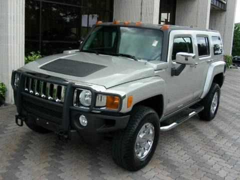 Boulder Gray Metallic 2006 Hummer H3 