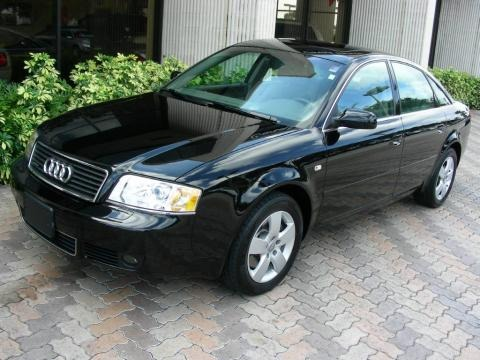 Brilliant Black 2003 Audi A6 3.0 quattro Sedan