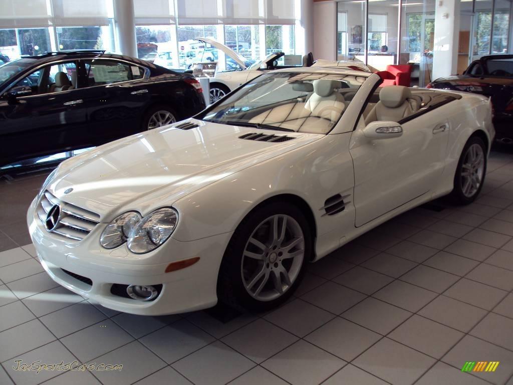 2008 mercedes benz sl 550 roadster in alabaster white for 2008 mercedes benz sl550 for sale