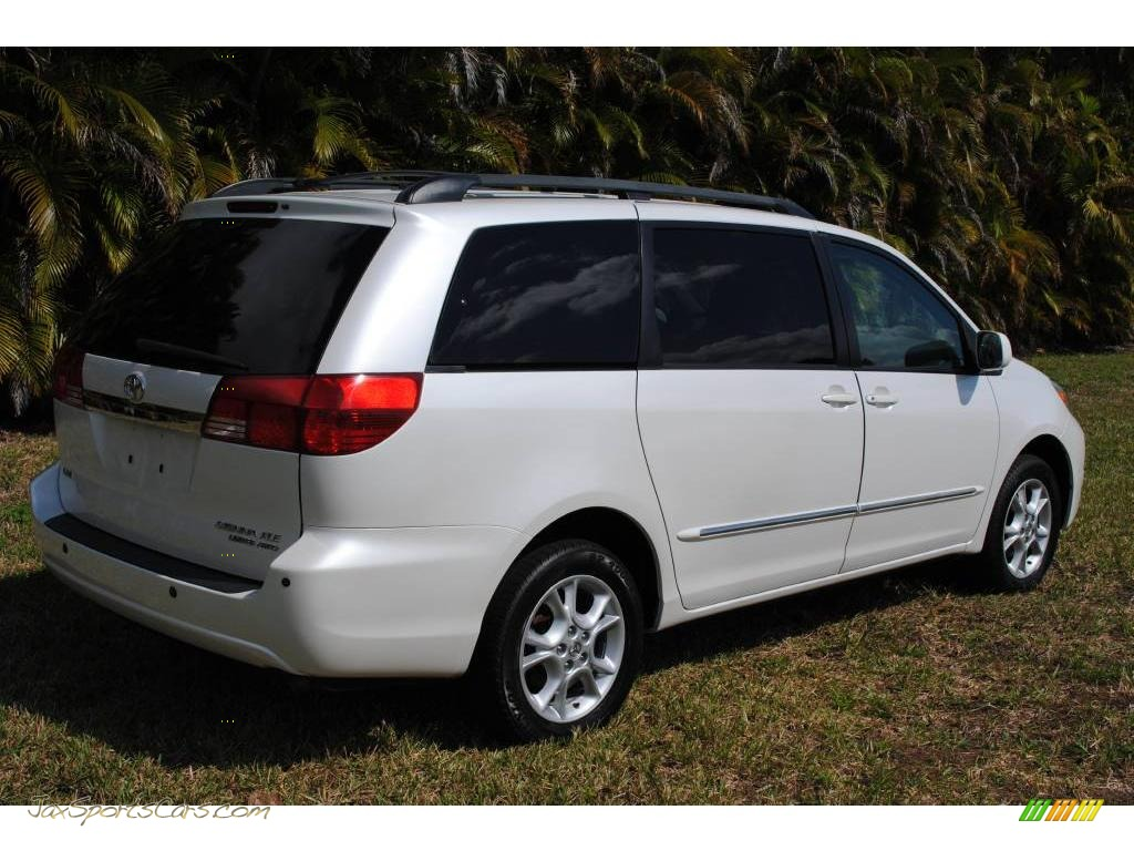 2004 Toyota Sienna Xle Limited Awd In Arctic Frost White