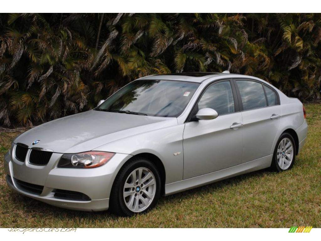 2007 bmw 3 series 328i sedan in titanium silver metallic. Black Bedroom Furniture Sets. Home Design Ideas