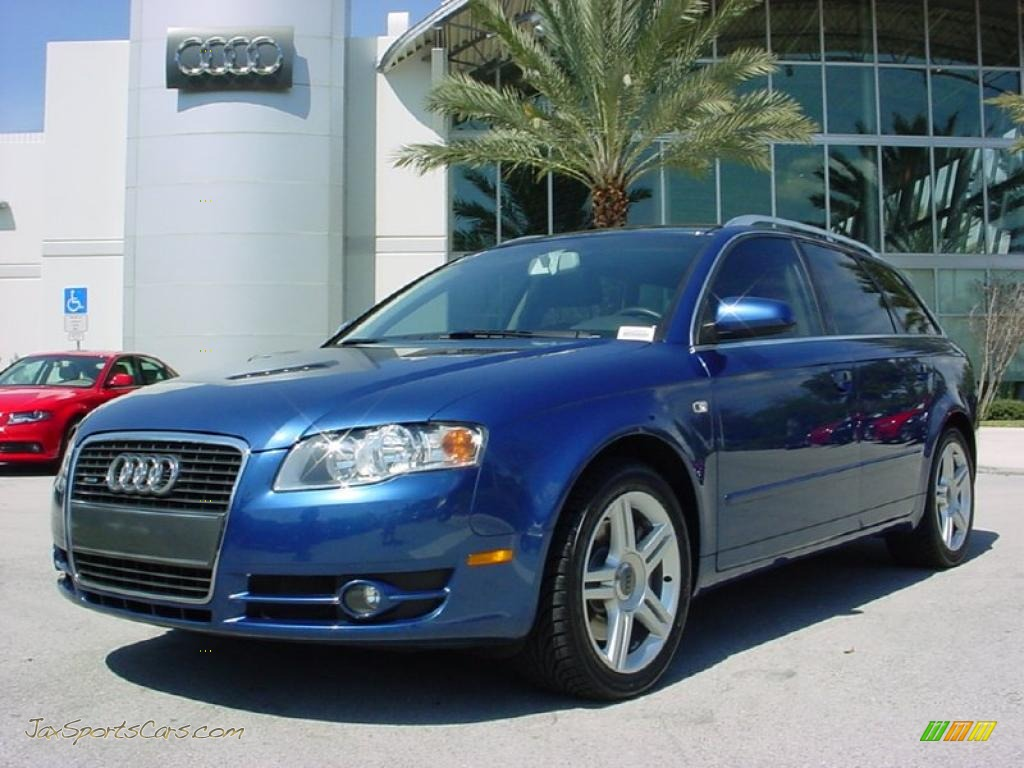 2007 audi a4 2 0t quattro avant in ocean blue pearl effect 109132 jax sports cars cars for. Black Bedroom Furniture Sets. Home Design Ideas
