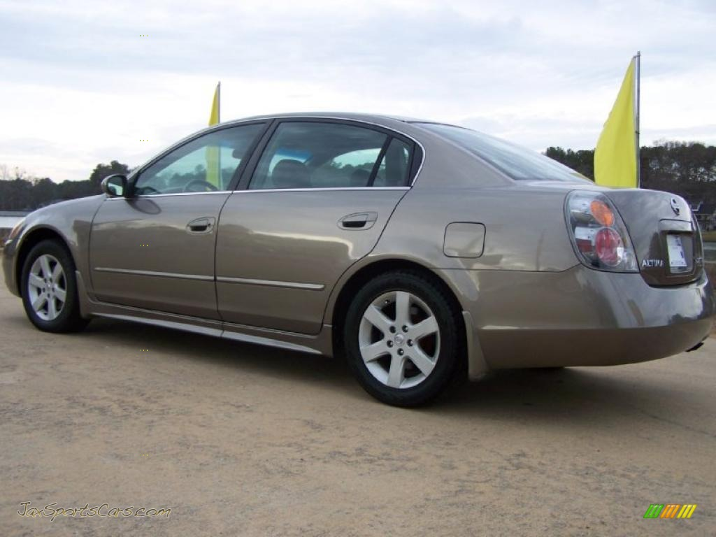 2002 Nissan Altima 2 5 Sl In Polished Pewter Metallic