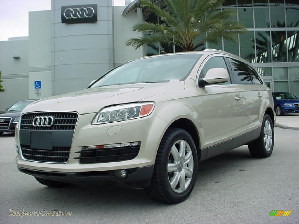 2007 audi q7 3 6 premium quattro in bahia beige metallic 058312 jax sports cars cars for. Black Bedroom Furniture Sets. Home Design Ideas