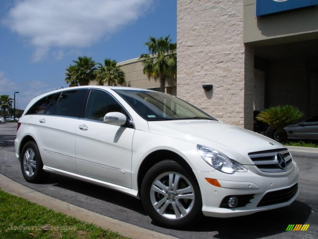 2008 mercedes benz r 320 cdi 4matic in arctic white photo. Black Bedroom Furniture Sets. Home Design Ideas