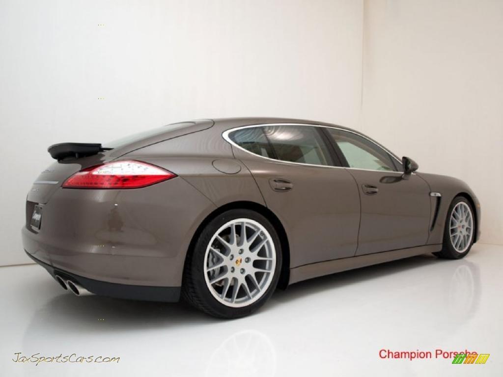 2010 Porsche Panamera S In Topaz Brown Metallic Photo 8