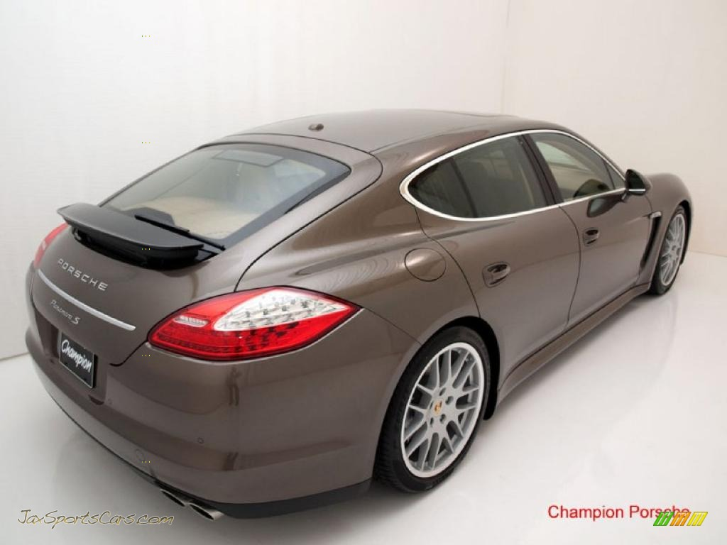 2010 Porsche Panamera S In Topaz Brown Metallic Photo 9
