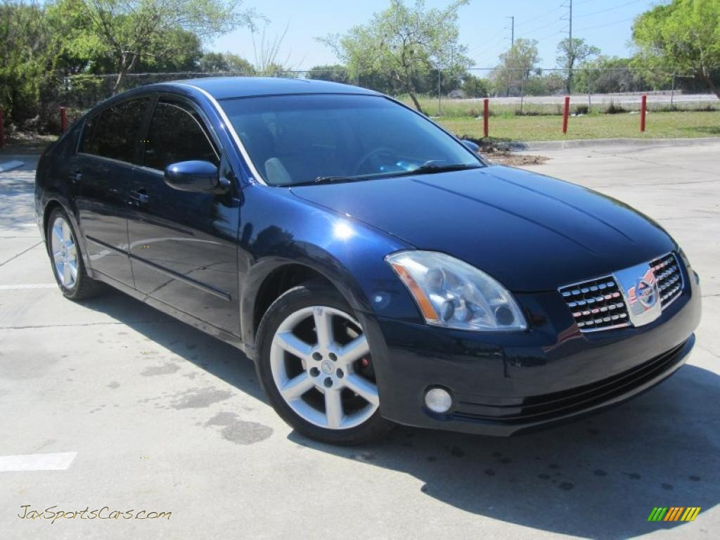 2006 nissan maxima 3 5 se in majestic blue metallic. Black Bedroom Furniture Sets. Home Design Ideas
