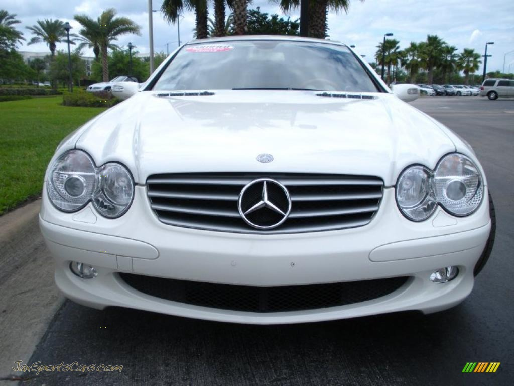 2006 mercedes benz sl 500 roadster in alabaster white for 2006 mercedes benz sl500