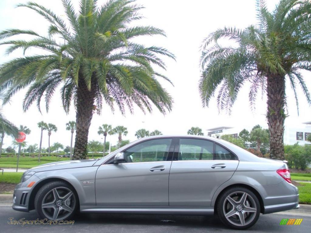 2008 mercedes benz c 63 amg in palladium silver metallic for Mercedes benz millenia