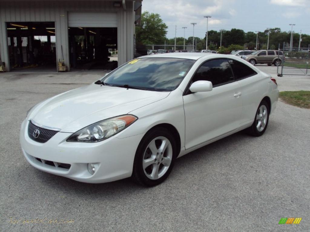 Sunshine Auto Sales >> 2006 Toyota Solara SE V6 Coupe in Arctic Frost Pearl ...