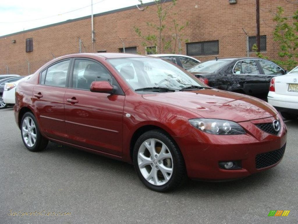 2009 mazda mazda3 i touring sedan in copper red mica 248226 jax sports cars cars for sale. Black Bedroom Furniture Sets. Home Design Ideas