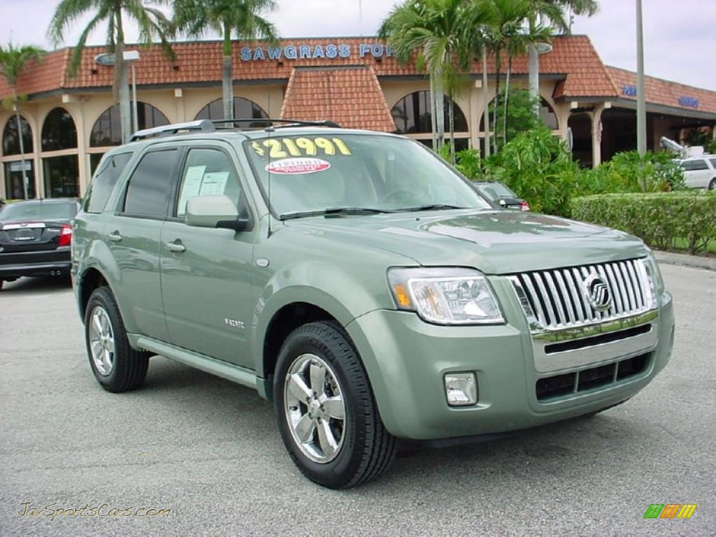 2008 Mercury Mariner V6 Premier Voga Package In Kiwi Green