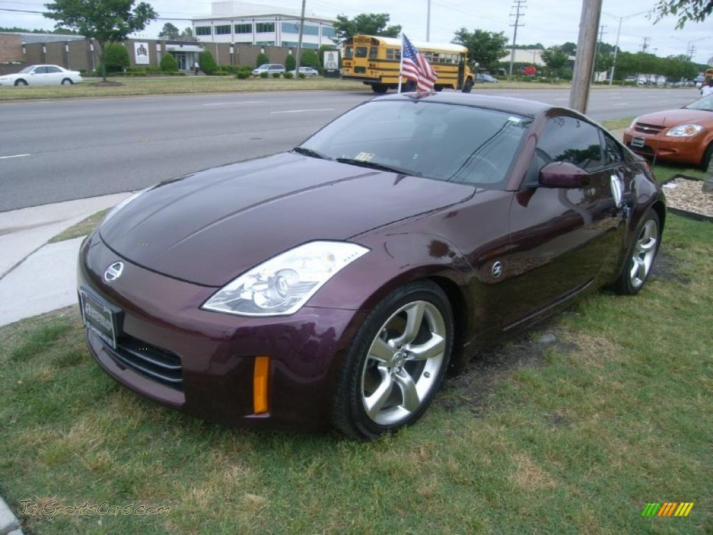 2006 nissan 350z coupe in interlagos fire metallic. Black Bedroom Furniture Sets. Home Design Ideas