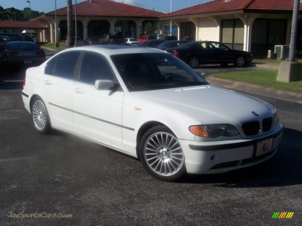 2003 bmw 3 series 330i sedan in alpine white m29123 jax sports cars cars for sale in florida. Black Bedroom Furniture Sets. Home Design Ideas