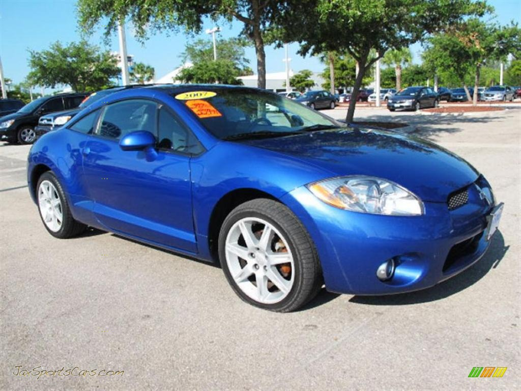 2006 mitsubishi eclipse gt coupe in uv blue pearl 016037 jax. Black Bedroom Furniture Sets. Home Design Ideas