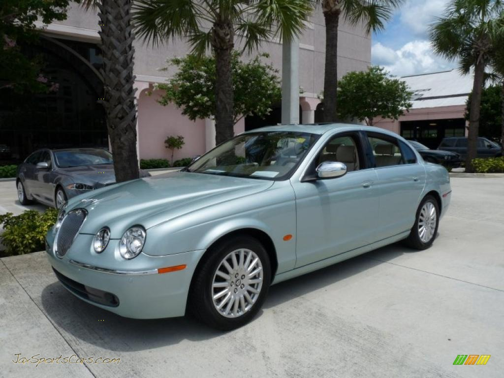 2005 jaguar s type 4 2 vdp in seafrost metallic n41635. Black Bedroom Furniture Sets. Home Design Ideas