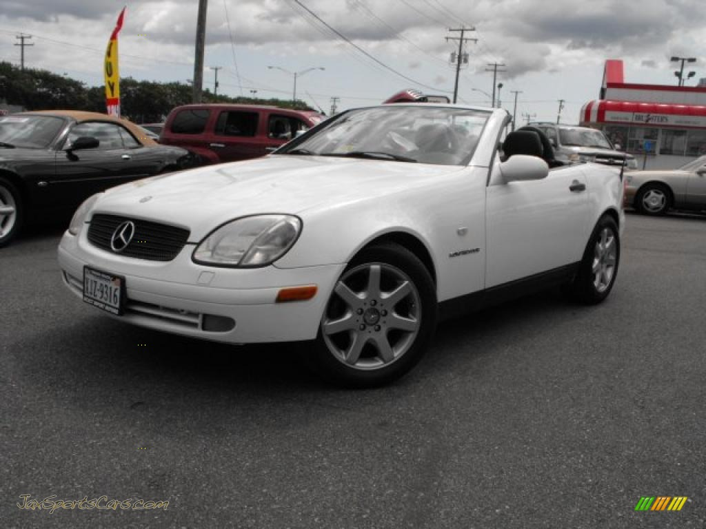 2000 mercedes benz slk 230 kompressor roadster in glacier. Black Bedroom Furniture Sets. Home Design Ideas