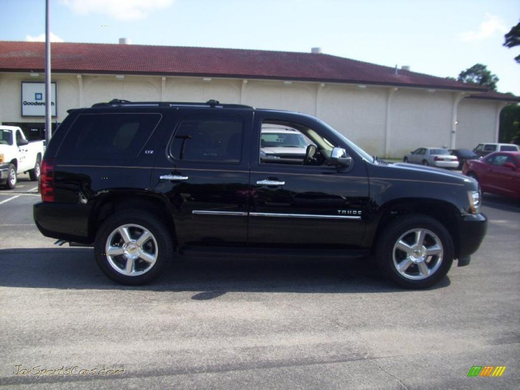 2010 chevrolet tahoe ltz 4x4 in black 241982 jax sports cars cars for sale in florida. Black Bedroom Furniture Sets. Home Design Ideas