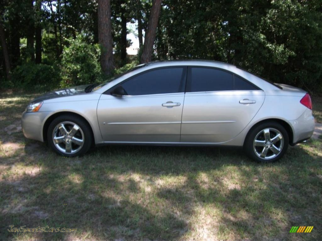2006 Pontiac G6 Gt Sedan In Liquid Silver Metallic