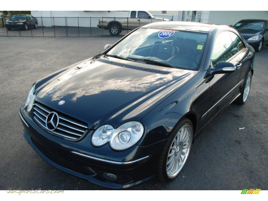 2004 mercedes benz clk 55 amg coupe in capri blue metallic for 2004 mercedes benz clk 500
